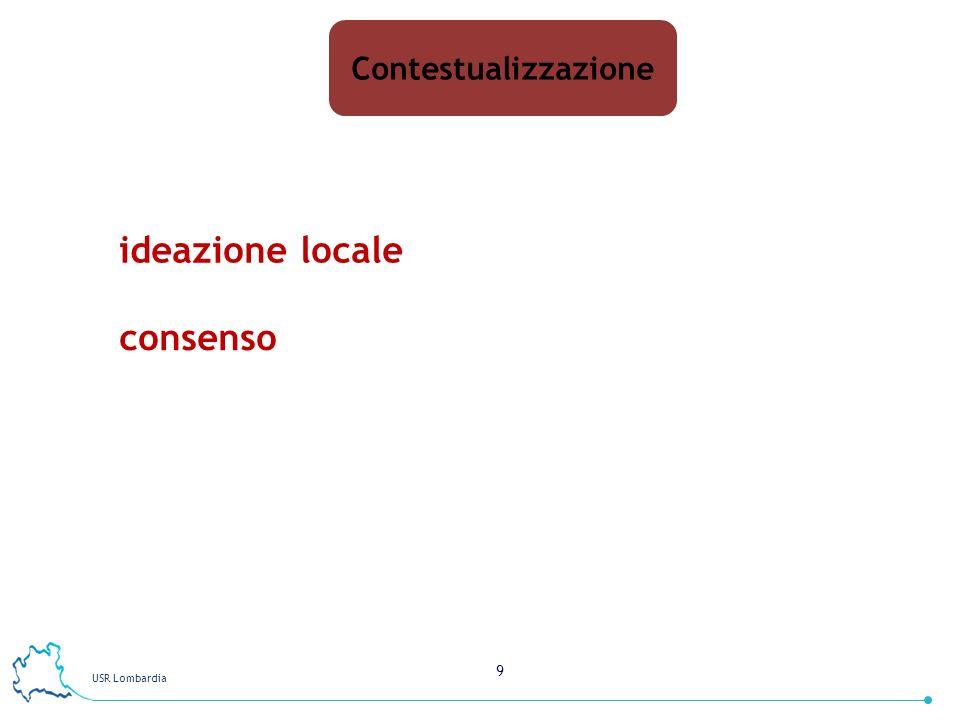 Contestualizzazione ideazione locale consenso