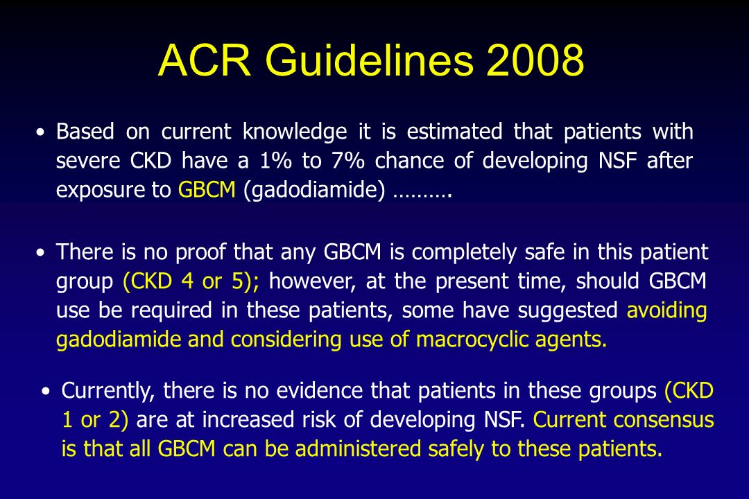 ACR Guidelines 2008