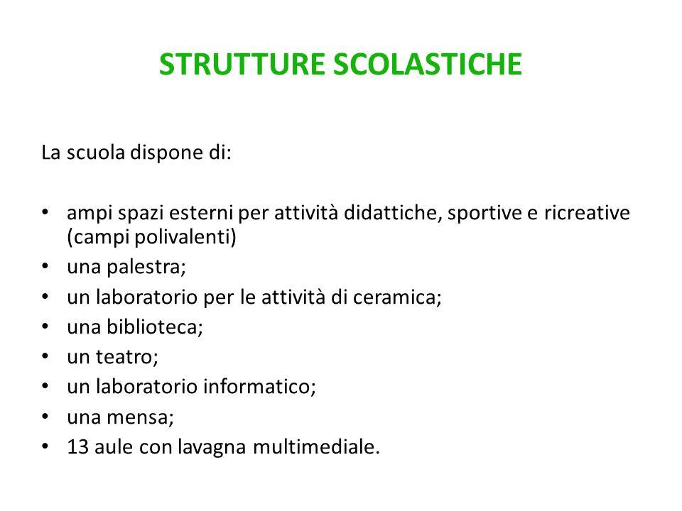 STRUTTURE SCOLASTICHE