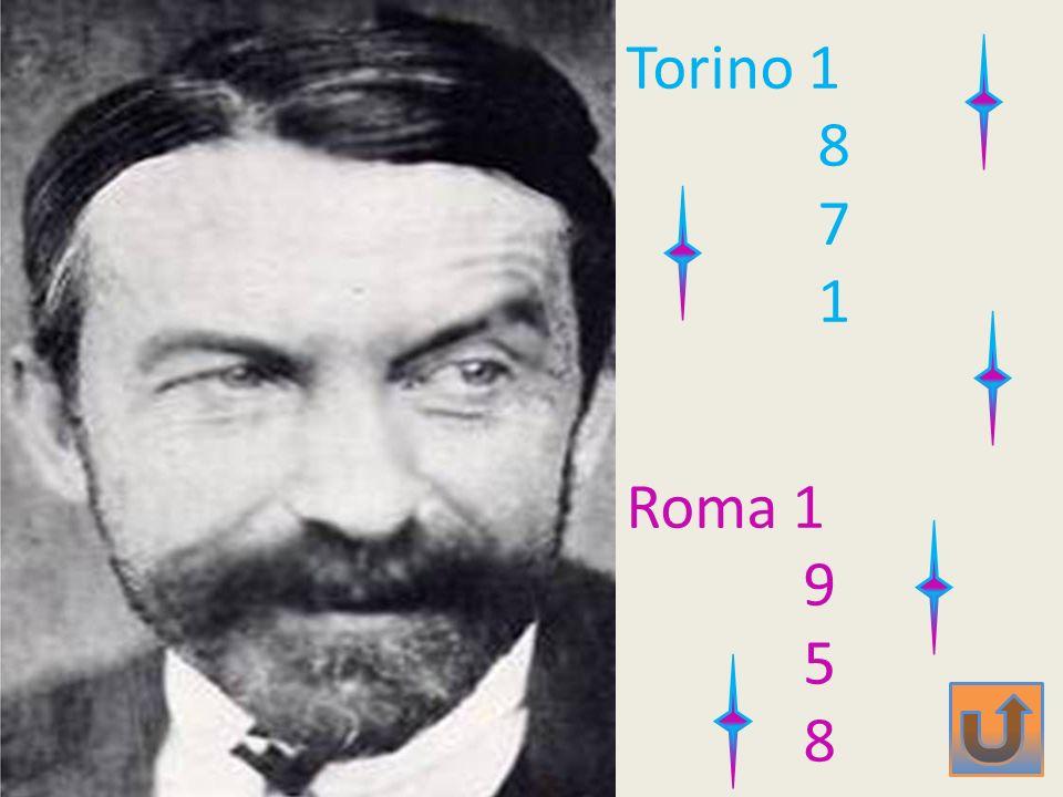 Torino 1 8 7 1 Roma 1 9 5