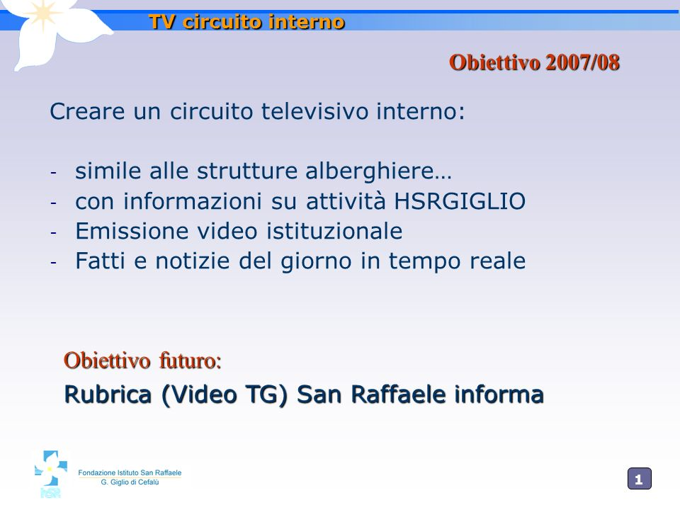 Rubrica (Video TG) San Raffaele informa