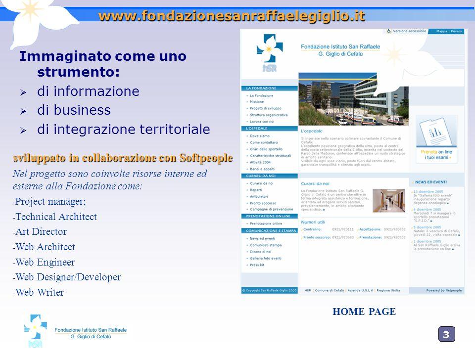 Immaginato come uno strumento: di informazione di business
