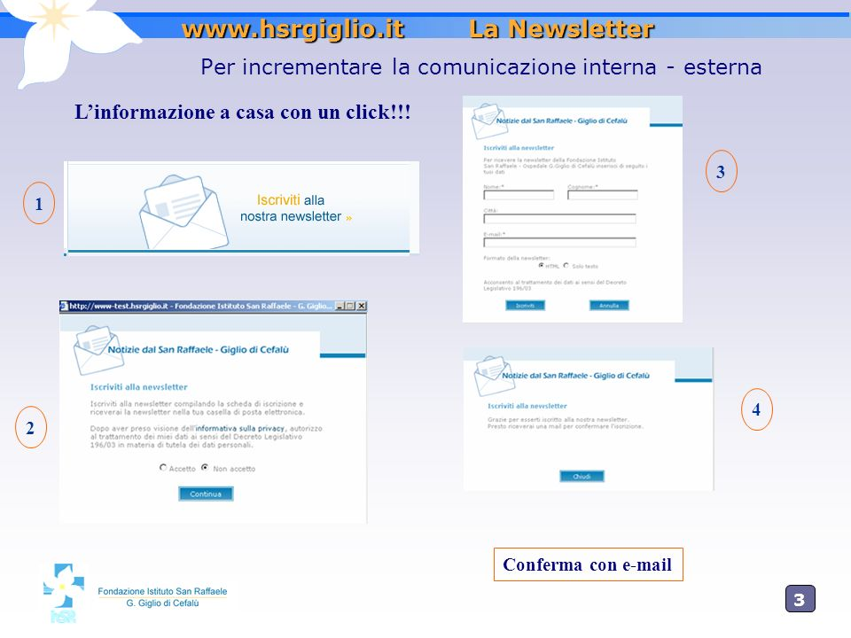 www.hsrgiglio.it La Newsletter