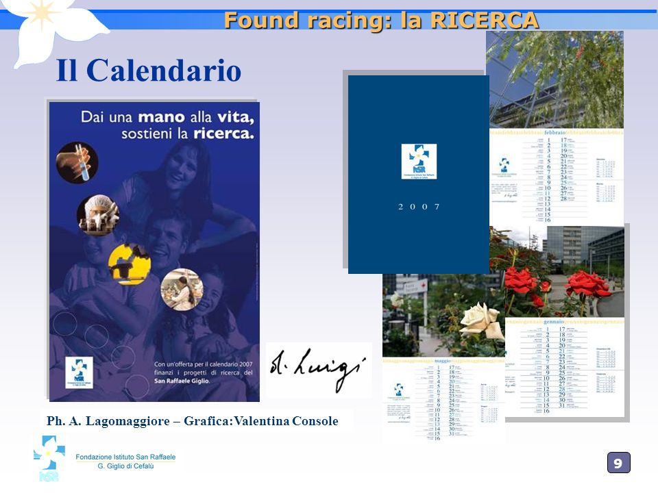 Found racing: la RICERCA