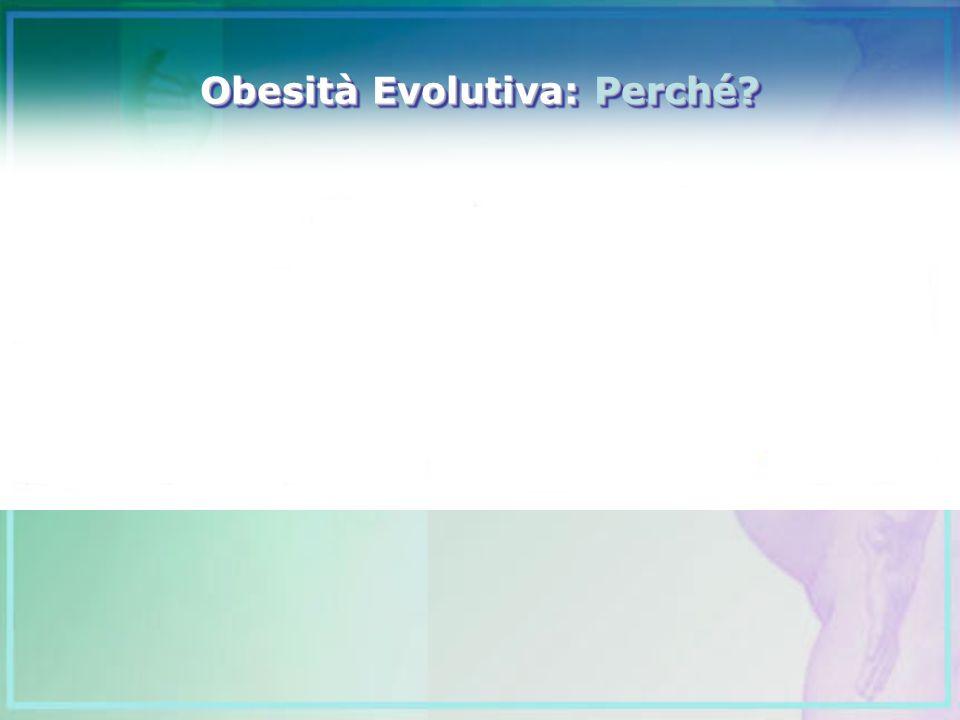 Obesità Evolutiva: Perché