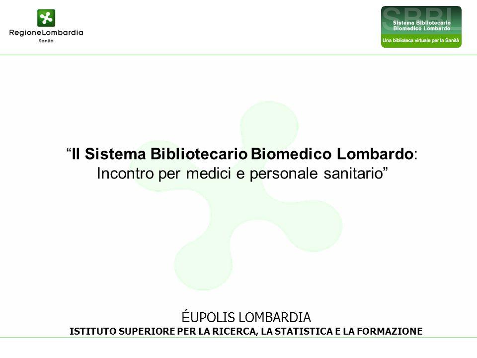 ISTITUTO SUPERIORE PER LA RICERCA, LA STATISTICA E LA FORMAZIONE