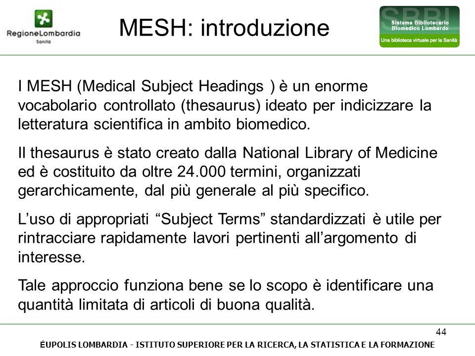 MESH: introduzione