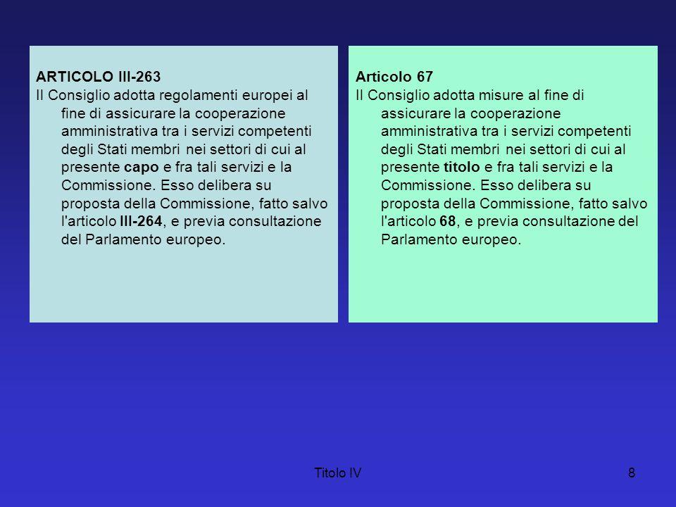 ARTICOLO III-263