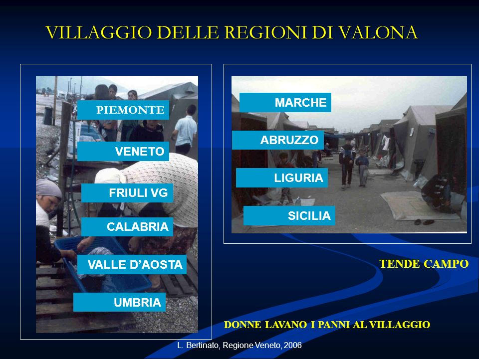 VILLAGGIO DELLE REGIONI DI VALONA