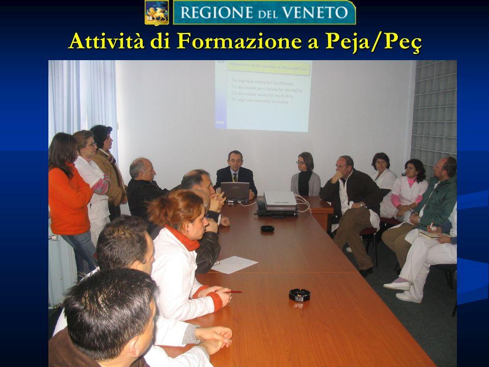 Attività di Formazione a Peja/Peç