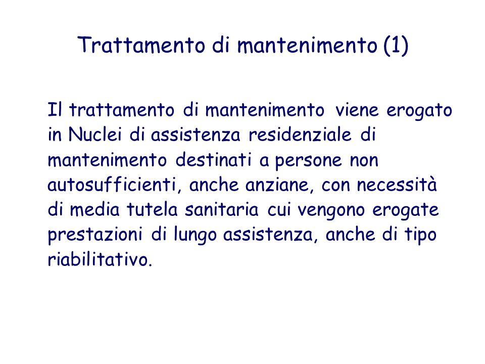 Trattamento di mantenimento (1)