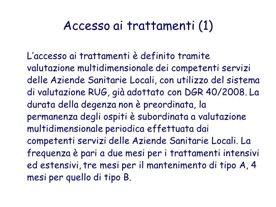 Accesso ai trattamenti (1)