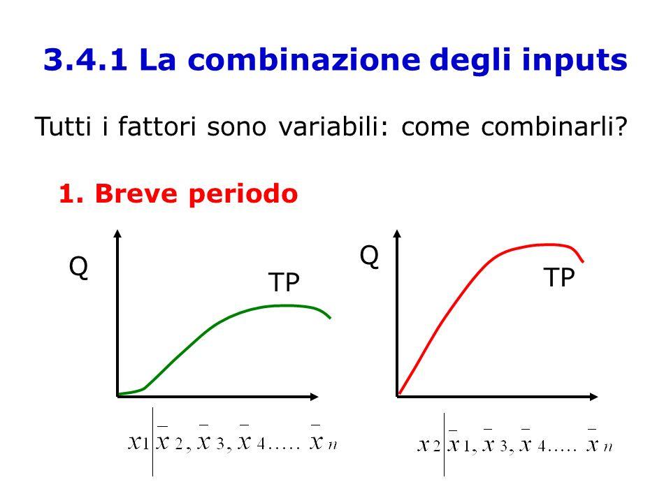 3.4.1 La combinazione degli inputs