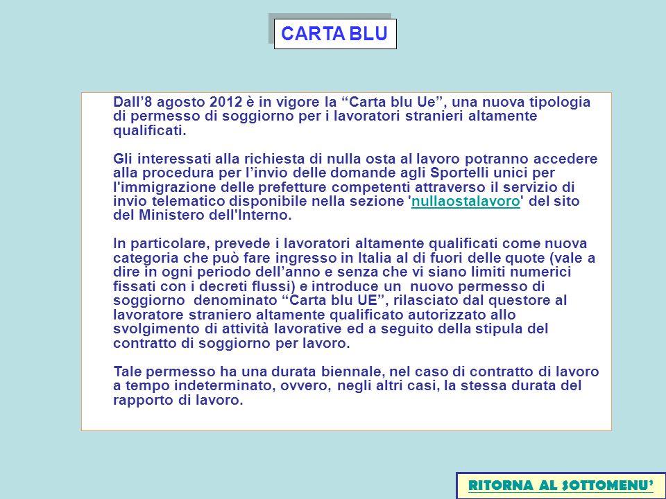 CARTA BLU