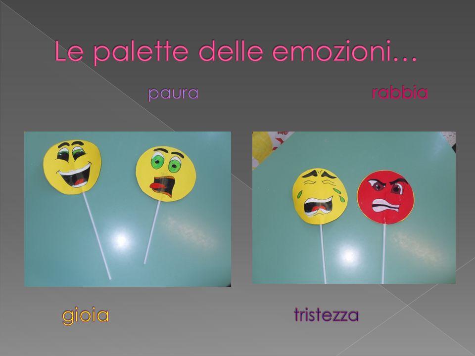 Le palette delle emozioni…