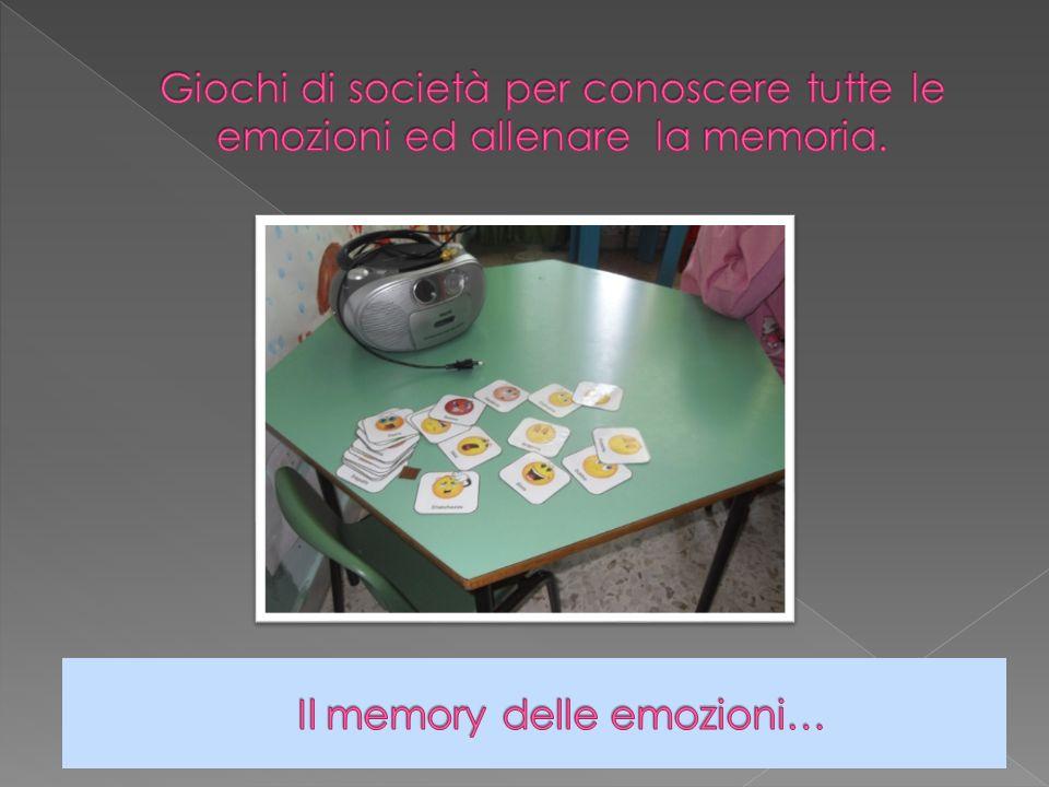 Il memory delle emozioni…