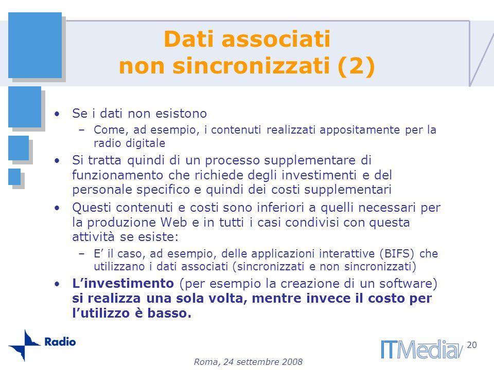 Dati associati non sincronizzati (2)