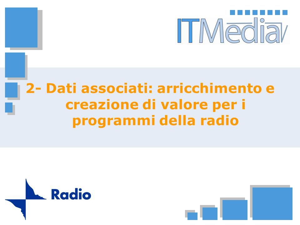 2- Dati associati: arricchimento e creazione di valore per i programmi della radio
