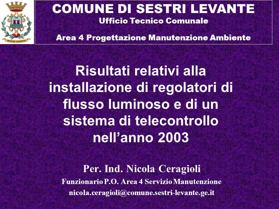COMUNE DI SESTRI LEVANTE