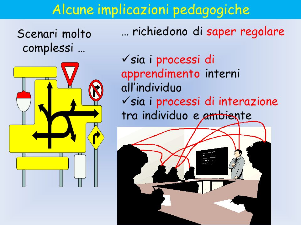 Alcune implicazioni pedagogiche