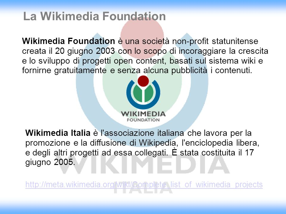 La Wikimedia Foundation