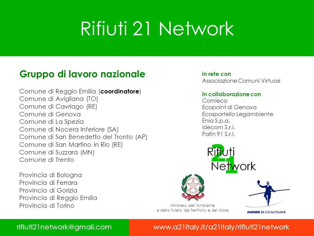 Rifiuti 21 Network Gruppo di lavoro nazionale