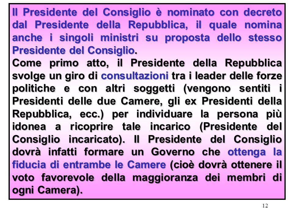 Il governo ppt video online scaricare for Decreto presidente della repubblica