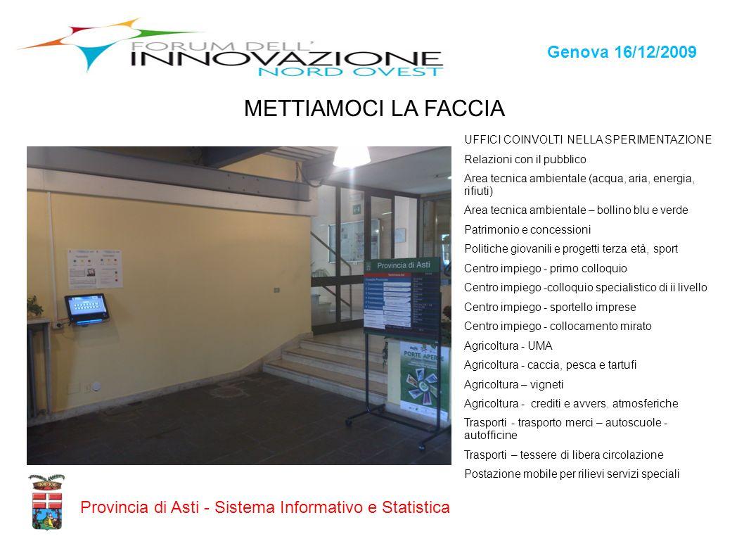 METTIAMOCI LA FACCIA Genova 16/12/2009