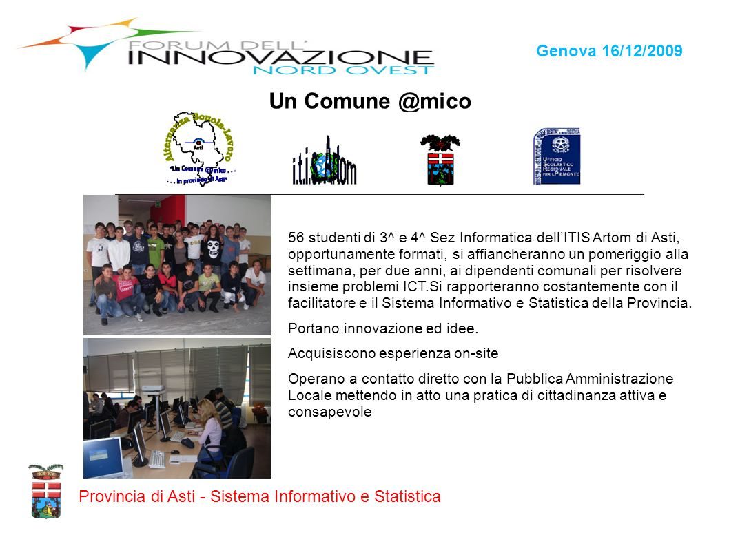 Un Comune @mico Genova 16/12/2009