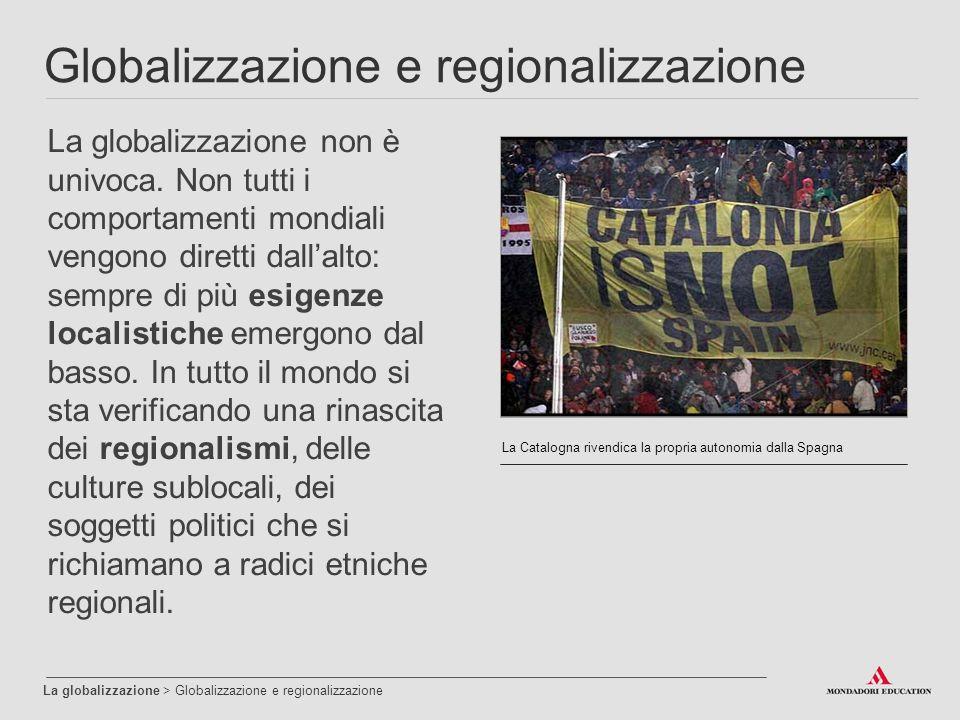 Globalizzazione e regionalizzazione