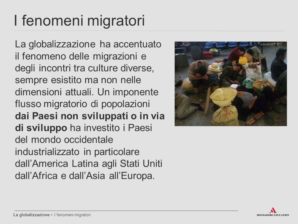 I fenomeni migratori