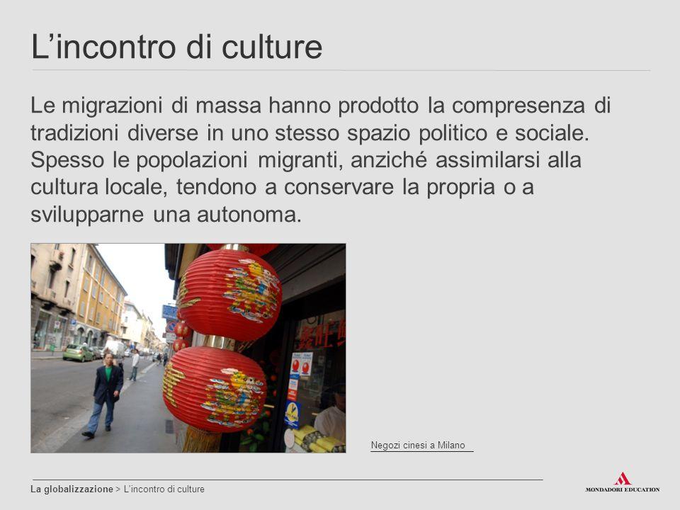 L'incontro di culture