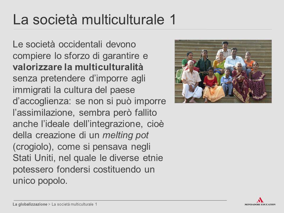 La società multiculturale 1