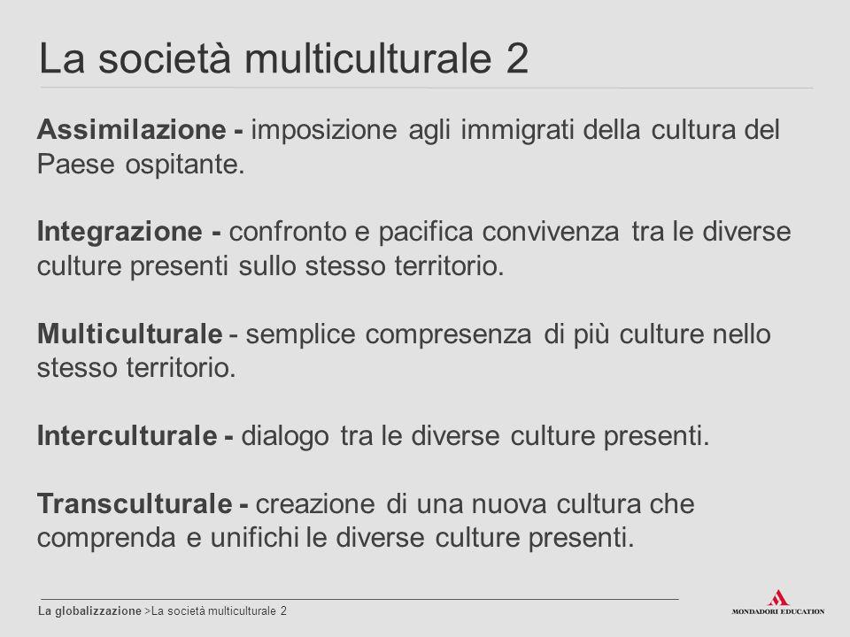 La società multiculturale 2