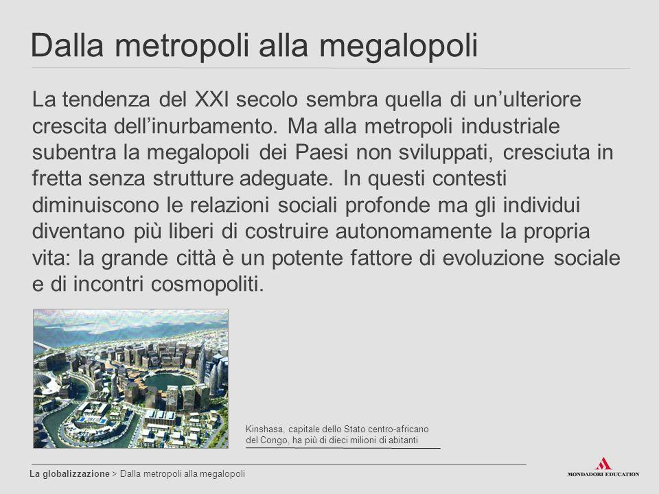 Dalla metropoli alla megalopoli