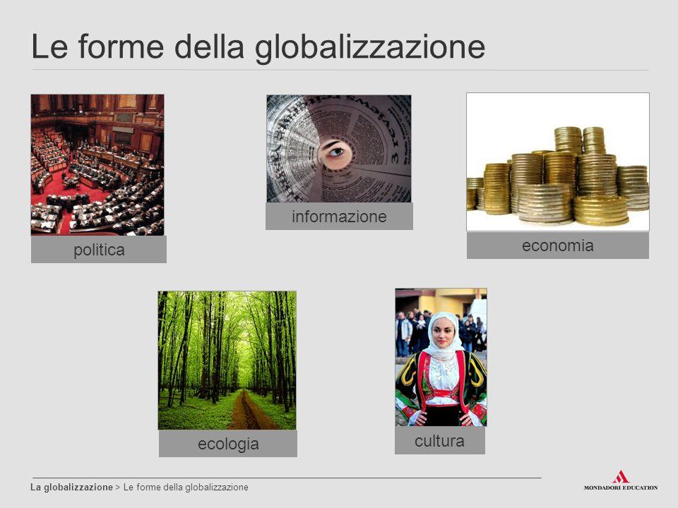 Le forme della globalizzazione