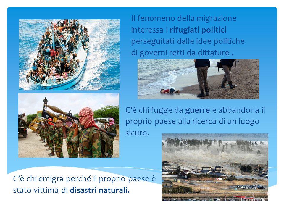 Il fenomeno della migrazione