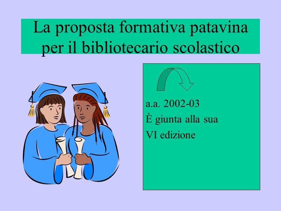 La proposta formativa patavina per il bibliotecario scolastico