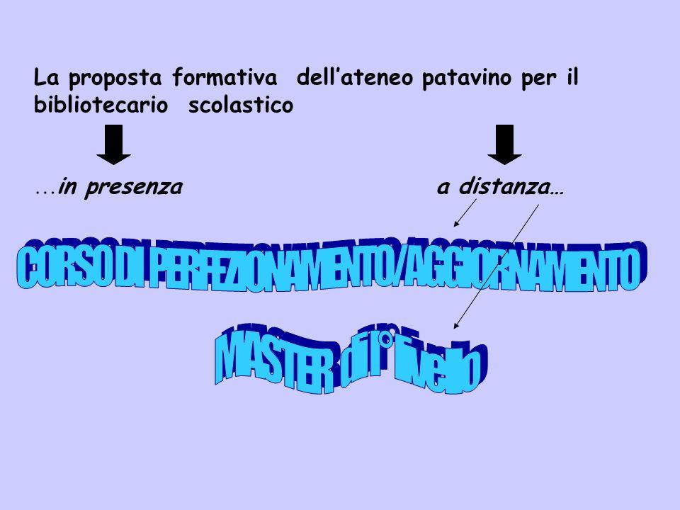 CORSO DI PERFEZIONAMENTO/AGGIORNAMENTO