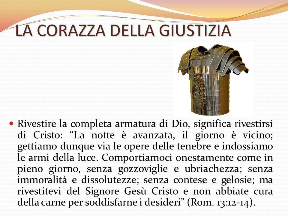 L armatura di dio la vita cristiana viene paragonata ad un - Armatura dell immagine del dio ...