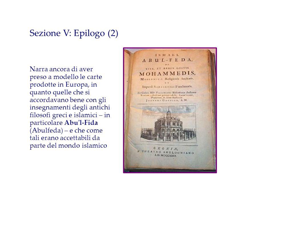 Sezione V: Epilogo (2)