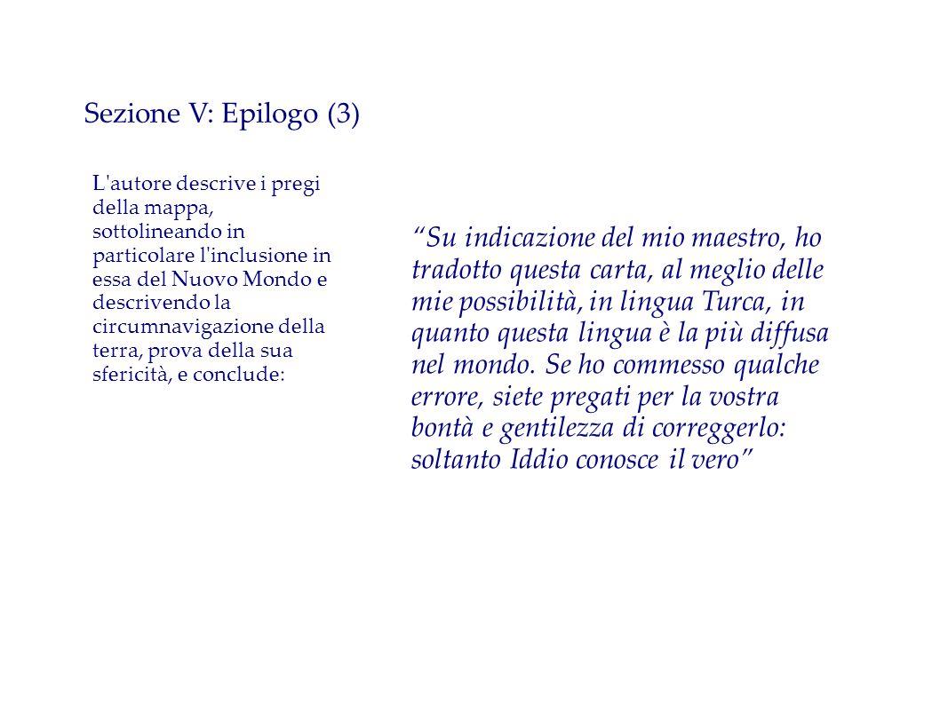 Sezione V: Epilogo (3)