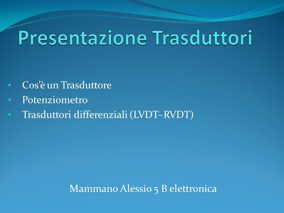Presentazione Trasduttori