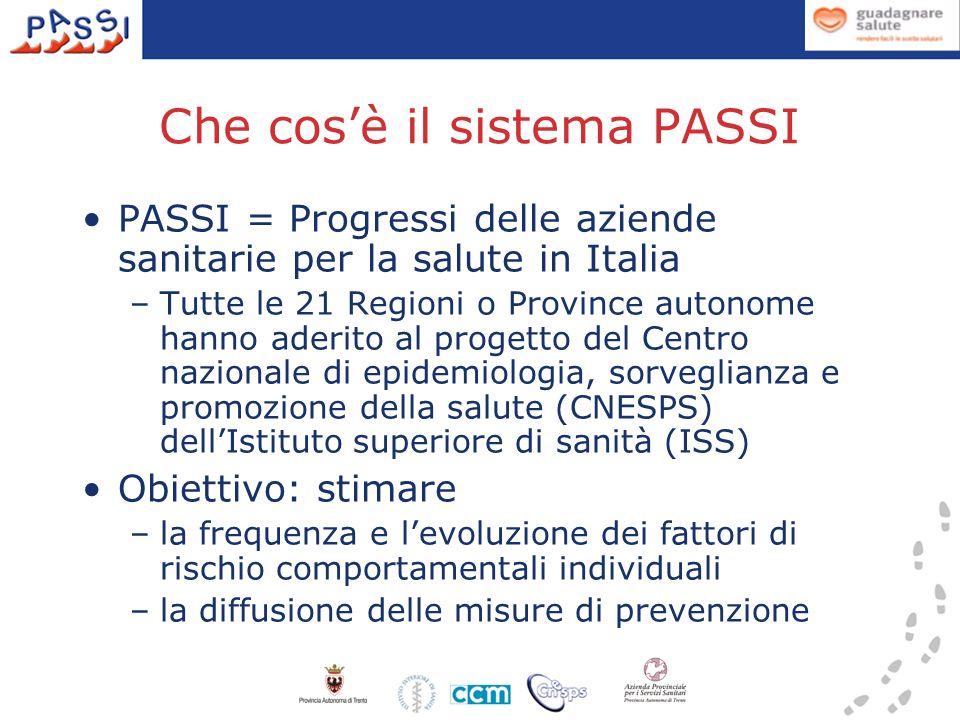 Che cos'è il sistema PASSI