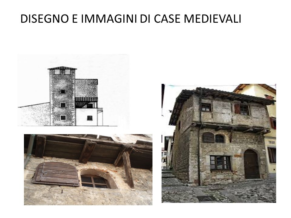 Il castello e la casa medievale ppt video online for Piani di casa medievale