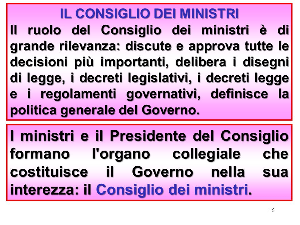 il governo ppt video online scaricare