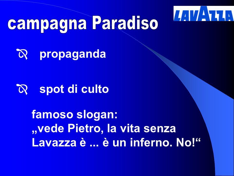 campagna Paradiso propaganda. spot di culto.