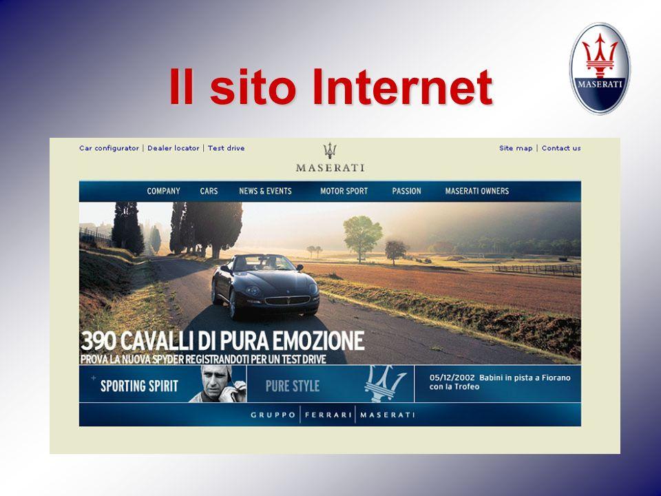 Il sito Internet