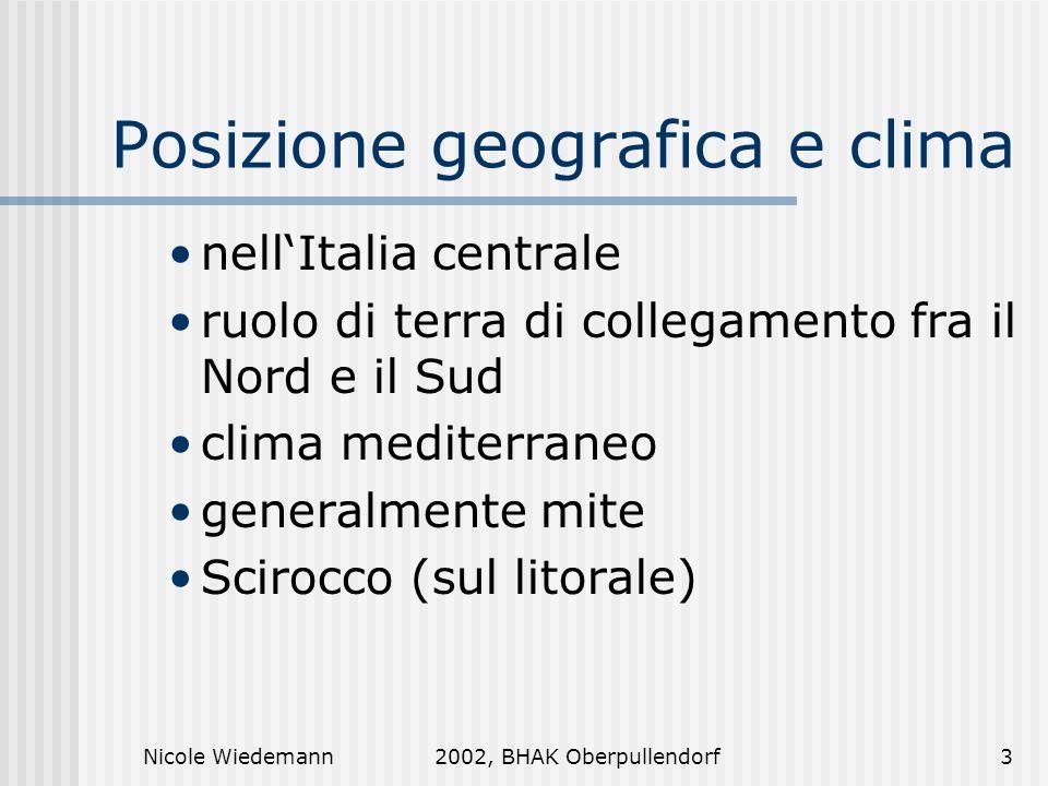 Posizione geografica e clima