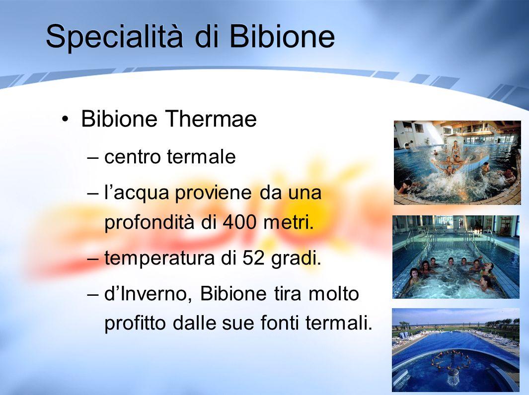 Specialità di Bibione Bibione Thermae centro termale